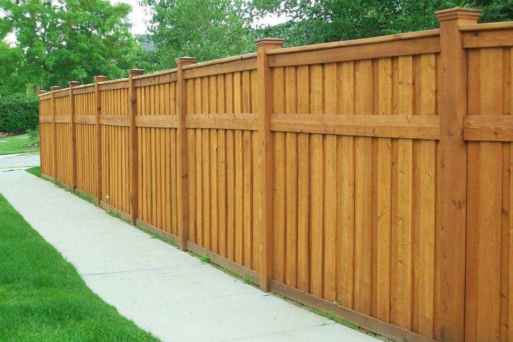 WOOD FENCE PANELS